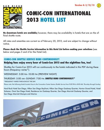 to download the current list of hotels in the comic-con hotel block