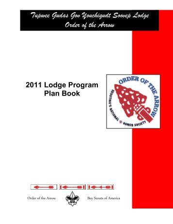 Tupwee Gudas Gov Youchiqudt Soovep Lodge Order of the Arrow