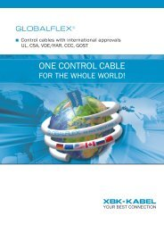 GLOBALFLEX® - One control cable for the whole world!