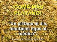 A comer plátanos