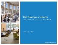 Perkins Eastman Presentation - The College of Coastal Georgia