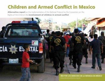 children and armed conflict in mexico - Red por los derechos de la ...