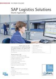 SAP Logistics Solutions - viastore