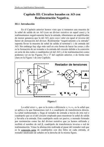 Tema 3 del libro de Ignacio Izpura - Electrónica Analógica