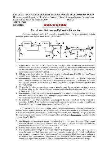 Examen de Febrero 2009 - DIE - UPM