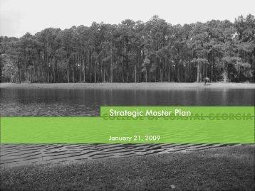 Master Plan Presentation to Foundation Board of Trustees