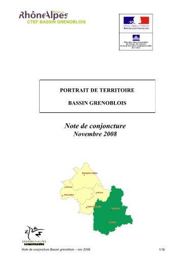 Bassin grenoblois diagnostic validé novembre 2008