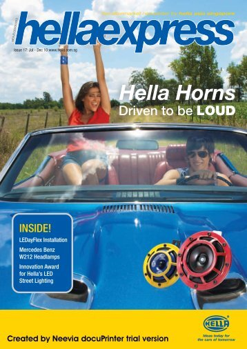 03/12/2010 Hella Express - Hella India
