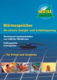 Prospekt Pufferspeicher 4 Seiten.pdf - NEUTRA Kunststoffbau GmbH