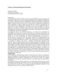 El nio y la Enfermedad Inflamatoria Intestinal - Asociación Vasca de ...