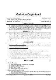 Química Orgânica 2