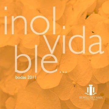 bodas 2011 - Castilla Termal Hoteles