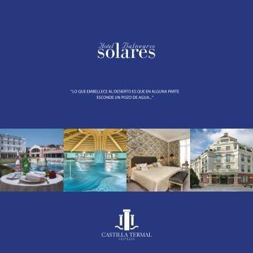 Catálogo Hotel Balneario de Solares - Castilla Termal Hoteles