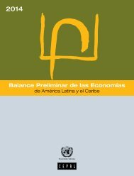 Balance Preliminar de las Economías de América Latina y el Caribe 2014