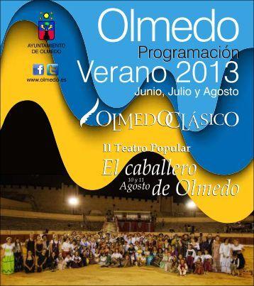 Programa Verano Olmedo 2013 - Castilla Termal Hoteles
