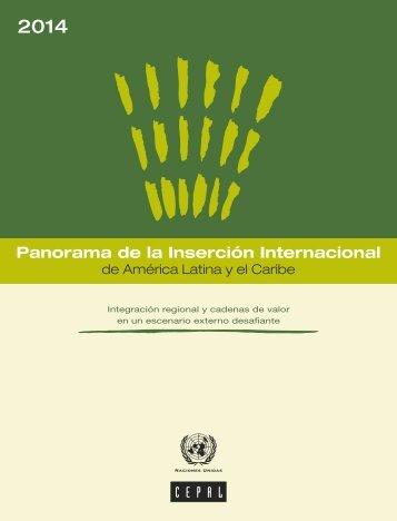 Panorama de la Inserción Internacional de América Latina y el Caribe 2014