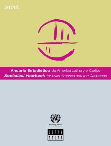 Anuario Estadístico de América Latina y el Caribe = Statistical Yearbook for Latin America and the Caribbean2014