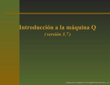 Introducción a la máquina Q