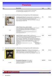04 Preisliste 09 2008 - Neutherm