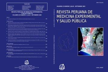 CARATULA INS N.º 22 - 3 - Instituto Nacional de Salud