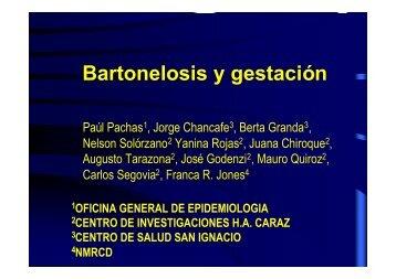 Bartonelosis y gestación