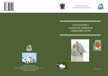 guía de manejo y cuidado de animales de laboratorio: ratón