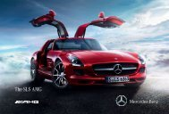 The SLS AMG - Mercedes-Benz