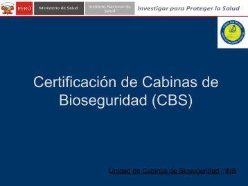 Diapositiva 1 - Instituto Nacional de Salud