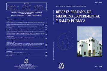Revista Peruana de Medicina Experimental y Salud Pública