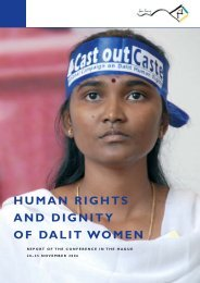 Human Rights and Dignity of Dalit Women