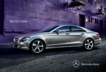 The CLS-Class - Mercedes-Benz
