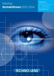 Katalog Kontaktlinsen 2013-2014 - techno-lens sa
