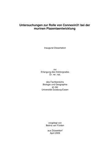 Text anzeigen (PDF) - bei Duepublico - Universität Duisburg-Essen