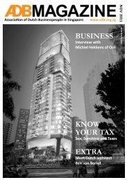 November 2011 - Association of Dutch Businessmen