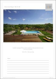 Finca near Buger - Ref. 01-48 - Luxury Holidayhomes on Mallorca