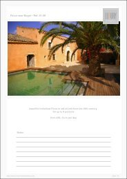 Finca near Buger - Ref. 01-08 - Luxury Holidayhomes on Mallorca