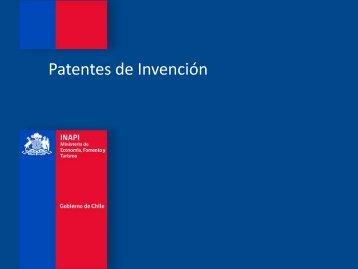 Patentes de invención - Inapi