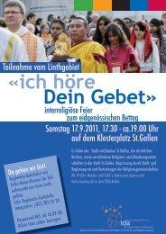 Samstag 17.9.2011, 17.30 - ca.19.00 Uhr auf dem Klosterplatz ... - IDA