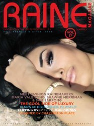RAINE MAGAZINE Volume 17   Fashion & Style