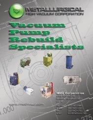 Rebuilding Vacuum Pumps - Directories