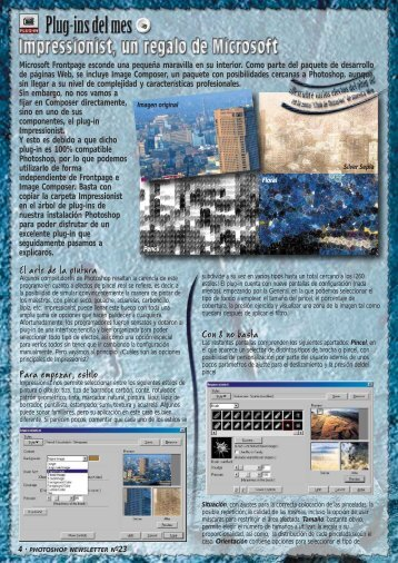 Plug-in del mes - Adobe Photoshop Newsletter