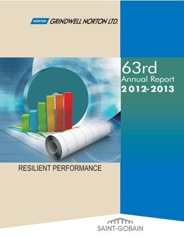 Annual Report 2013 - Cover Pages Fn - Saint-Gobain India