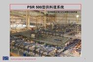 PSR 500型供料道系统 - Parkinson-Spencer Refractories