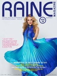 RAINE MAGAZINE Volume 18   International