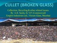 broken/waste Glass
