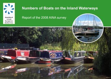 Numbers of Boats on the Inland Waterways - AINA