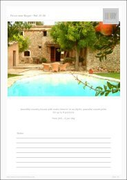 Finca near Buger - Ref. 01-06 - Luxury Holidayhomes on Mallorca