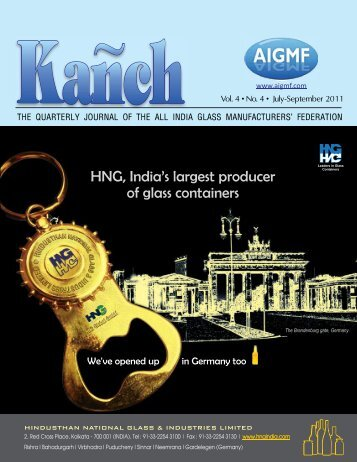 Download this Issue - The All India Glass Manufacturers' Federation