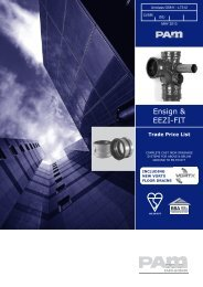 Ensign Trade Price List May 2013 - Saint-Gobain PAM UK