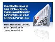 Using IBM Maximo and Ivara EXP Enterprise to Improve Asset ...